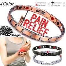 Jewelry, stainlesssteelbracelet, Elegant, magnetictherapy