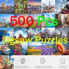 puzzle500, Children's Toys, puzzle3d, Puzzle