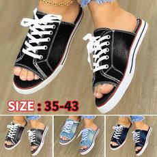 Sandals & Flip Flops, sandalendamen, Plus Size, Platform Shoes
