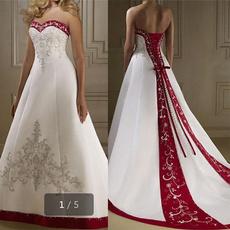 satinweddingdres, Sexy Wedding Dress, Moda, Bridal