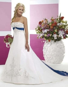 satinweddingdres, strapless, party, Dress