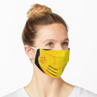 Mortal Kombat Scorpion Mask Custom Design For Adult Kids Anti Dust