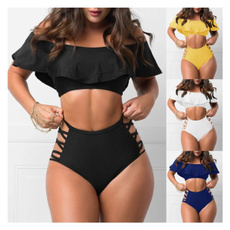 bathing suit, Plus Size, Summer, Tops
