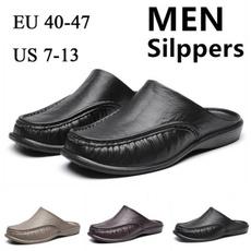 non-slip, Flip Flops, Outdoor, leather shoes