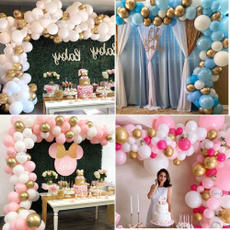 White Gold, gold, Kit, confettiballoon