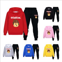 Black Suit Roblox Pants New 7 Colors Kids Roblox Hoodies Sets And Pants New Suit Black Sweatpants Funny For Teens Black Long Sleeve Pullovers For Boys Or Girls Geek