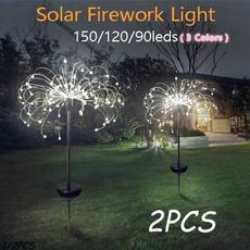 solarfireworkslight, Outdoor, Garden, Waterproof