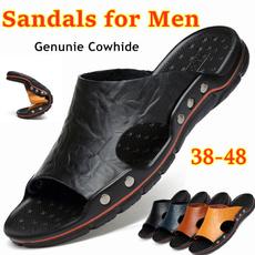 Summer, Plus Size, sandalsformen, casualslipper