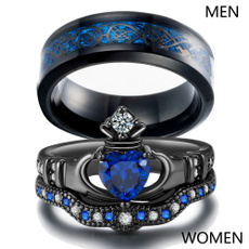 Couple Rings, Fashion Jewelry, wedding ring, Heart
