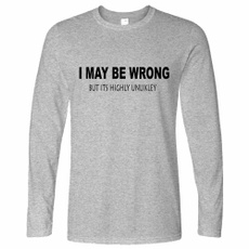 wrong, slogan, Sleeve, Long Sleeve