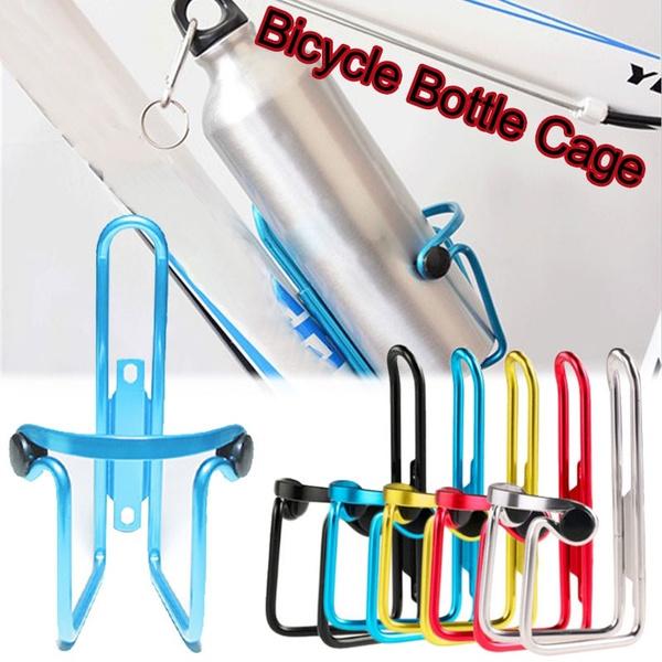 MTB Bike Bicycle Water Bottle Cage Rack Outdoor Cycling Drink Holder Bracket