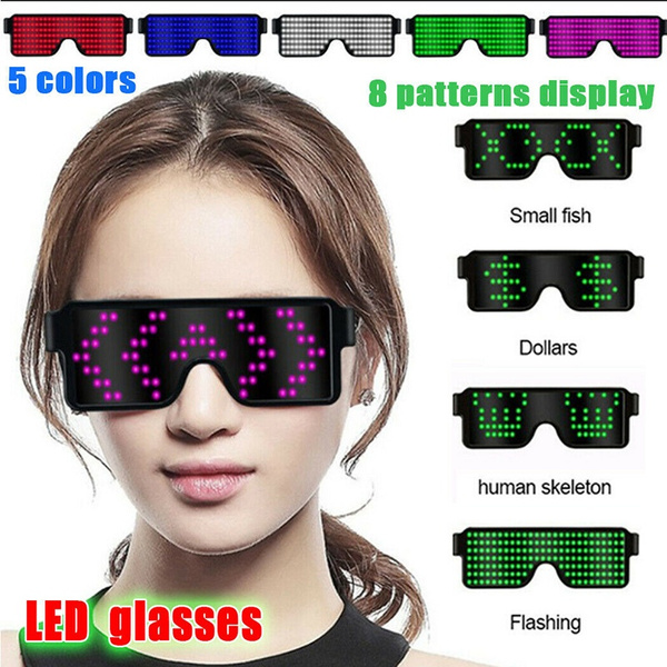 Neon Glow LED Eyewear