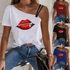 shirtsforwomen, Plus Size, short sleeves, T Shirts