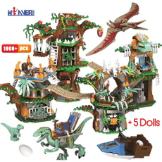 Children, Toy, jurassic, house