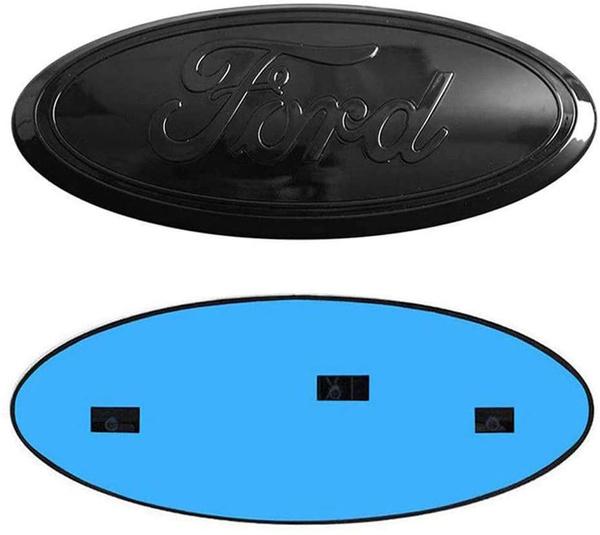 11-14 Edge Ford Front Grille Emblem F150 Emblem Ford Tailgate Emblem Oval 9X3.5 Decal Badge Nameplate Also Fits for 04-14 F250 F350 06-11 Ranger 11-16 Explorer blue 9inch Ford Emblem