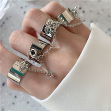 Magnet, crystal ring, Jewelry, Chain