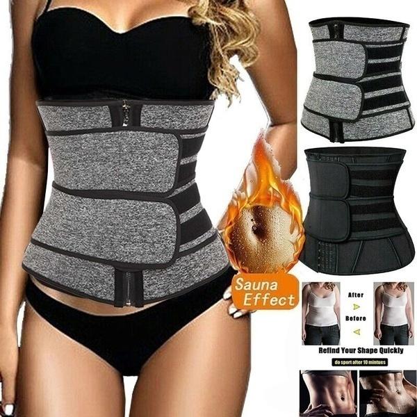 Men Women Body Shaper Neoprene Sports Sauna Belts Sweat Fat Burner Waist Trainer