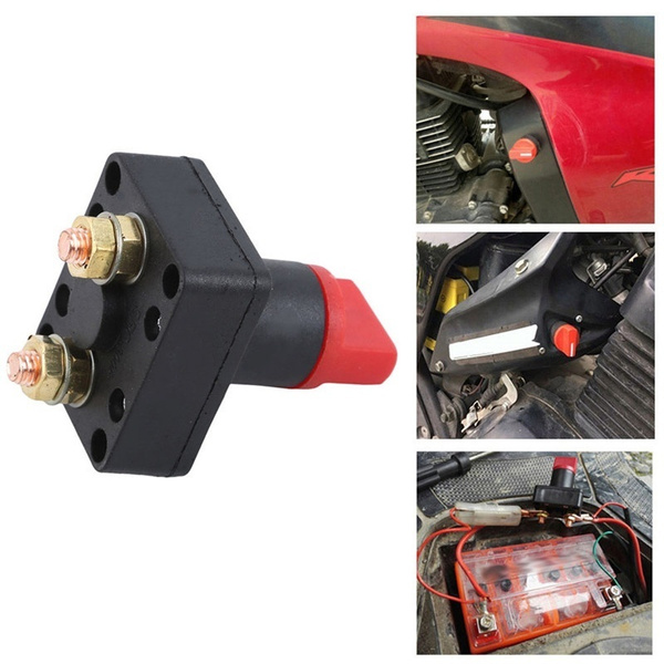 Car Battery Current Switch Battery Isolator Switch Marine Truck Car Yacht Power Cut Off Switch Wish