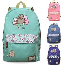 Laptop Backpack, pusheenbackpack, School, rucksack