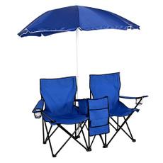 leisurechair, Blues, Picnic, Umbrella