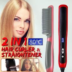 ceramichairbrush, Ceramic, hairstraightenerandcurler, hairstraighteneriron