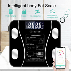 Bathroom, led, bodyfatscale, bluetoothscale