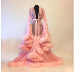 gowns, Sleepwear, kimono, longsleeveddresse