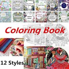 Garden, artpaintingbook, coloringpaintingbook, drawingbook