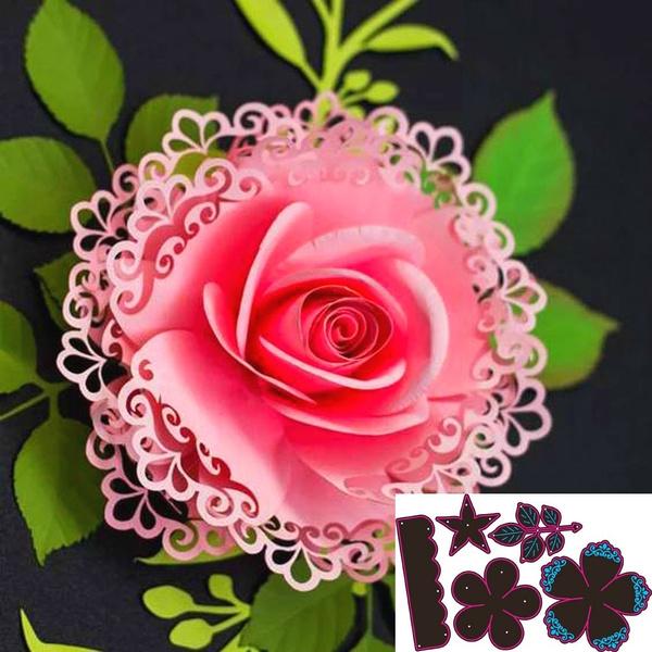 Various Flowers Metal Cutting Dies Diy Craft Scrapbooking Paper Cards Die-Cutter