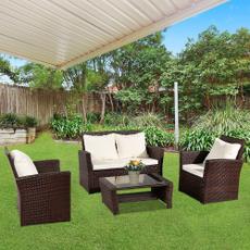 rattanwickersofa, Outdoor, gardensofa, Garden