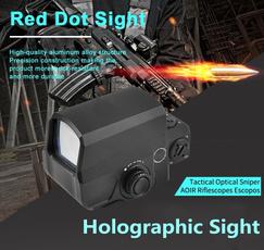airsoftgun, gunmount, reflexsight, Holographic