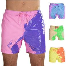 Summer, Plus Size, Shorts, Men