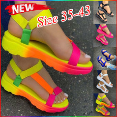 anklestrapssandal, Summer, Sandals, plainsandal