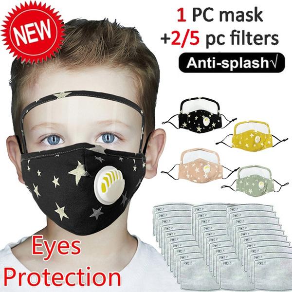 Cotton, dustmask, shield, Masks