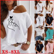 Summer, off shoulder top, Plus Size, Plus Size Fashions
