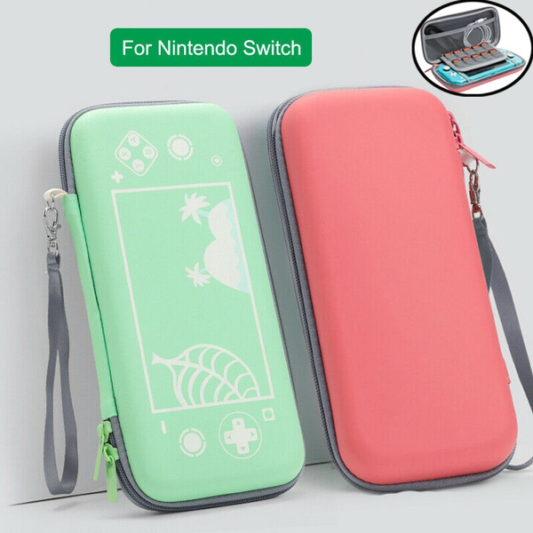 News Animal Crossing Carrying Case Travel Storage Bag For Nintendo Switch Lite Wish