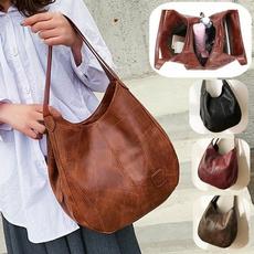Shoulder Bags, Designers, Capacity, leather satchel