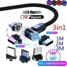 microusbtypecioscable, led, usb, Cable