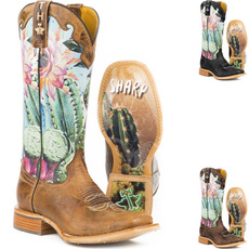 vintageboot, embroideryboot, Moda, Leather Boots