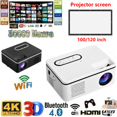 cinemaprojector, Mini, led, projector