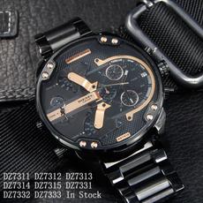 Steel, Fashion, dieselwatch, Casual Watches