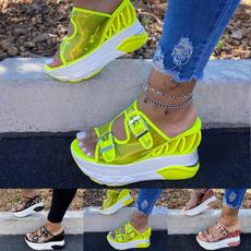 wedge, Flip Flops, Fashion, Platform Shoes