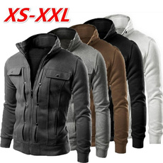 collar slim, Fashion, Hoodies, slim