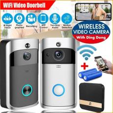 doorbell, wirelessdoorbell, Remote, doorbellcamera