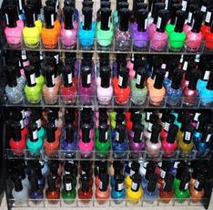 Nails, Beauty, rainbow, Nail Polish