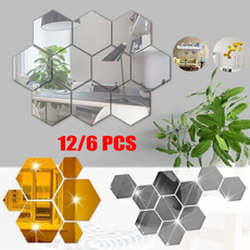 hexagonmirror, Decor, Home Decor, Home & Kitchen