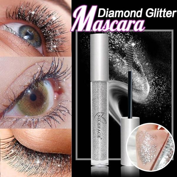 Makeup, sparklingdiamondmascara, DIAMOND, waterproofmascara