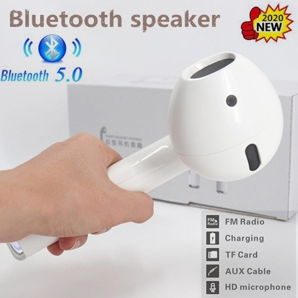 Speakers Louder Volume Crystal Subwoofer Portable Speaker Wireless Clear Stereo Sound Wireless Speakers Bluetooth Speakers Wirelessbluetoothspeaker Giant Headset Wish