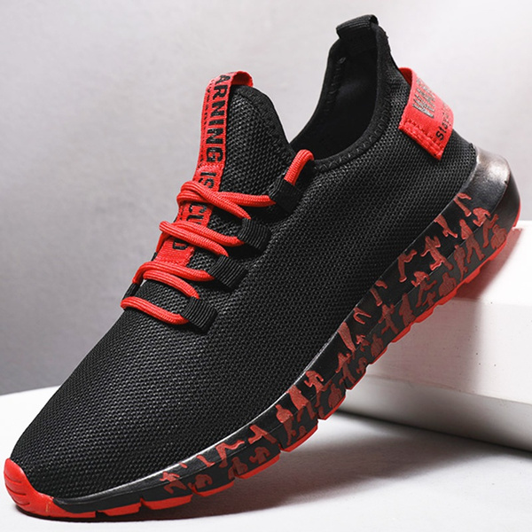 chaussure-sport-rouge