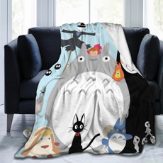 My neighbor totoro, Fleece, nakedcat, ultrasoftmicrofleeceblanket
